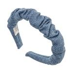 Hairband Scrunchie - Azul Blue