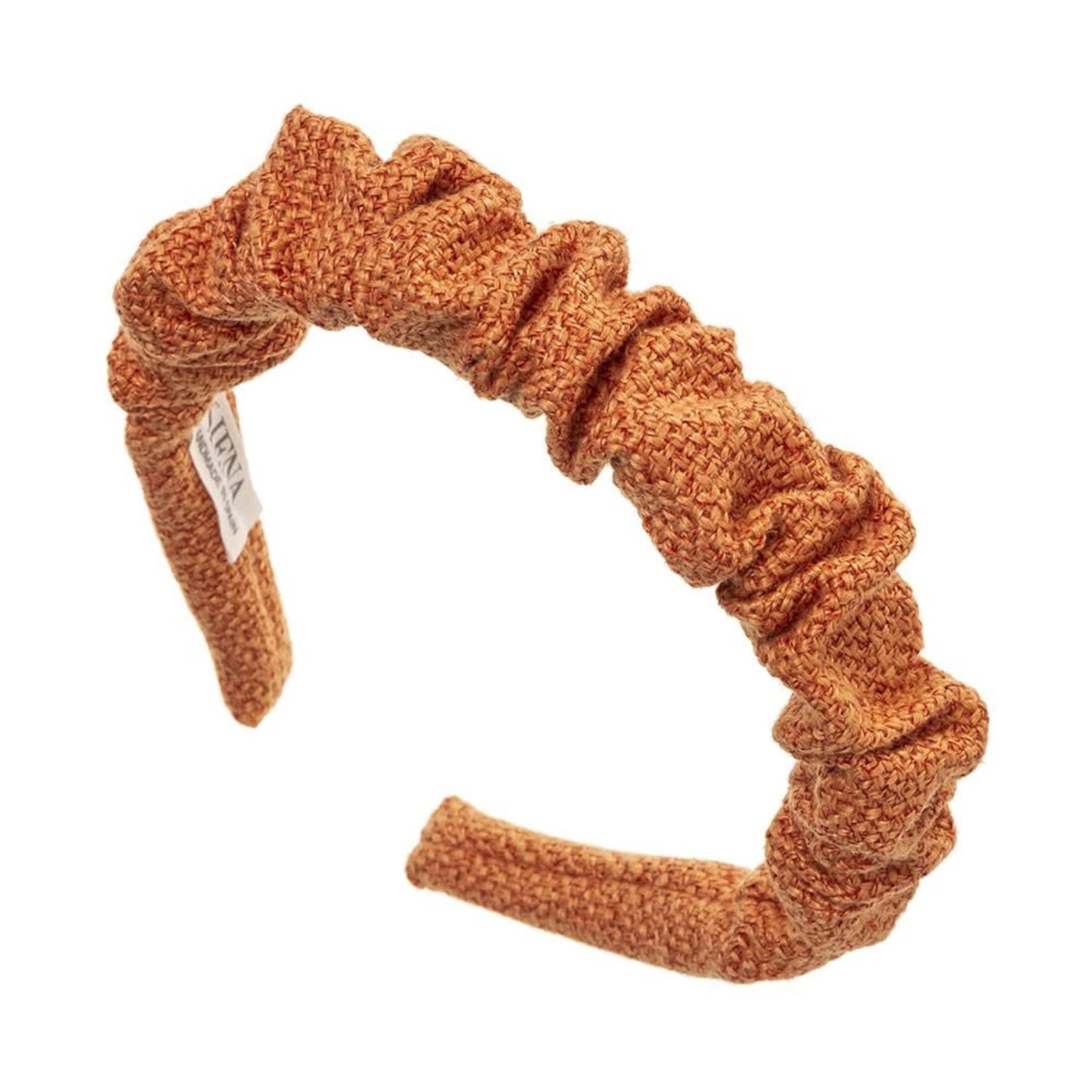 Hairband Scrunchie -  Dark Peach