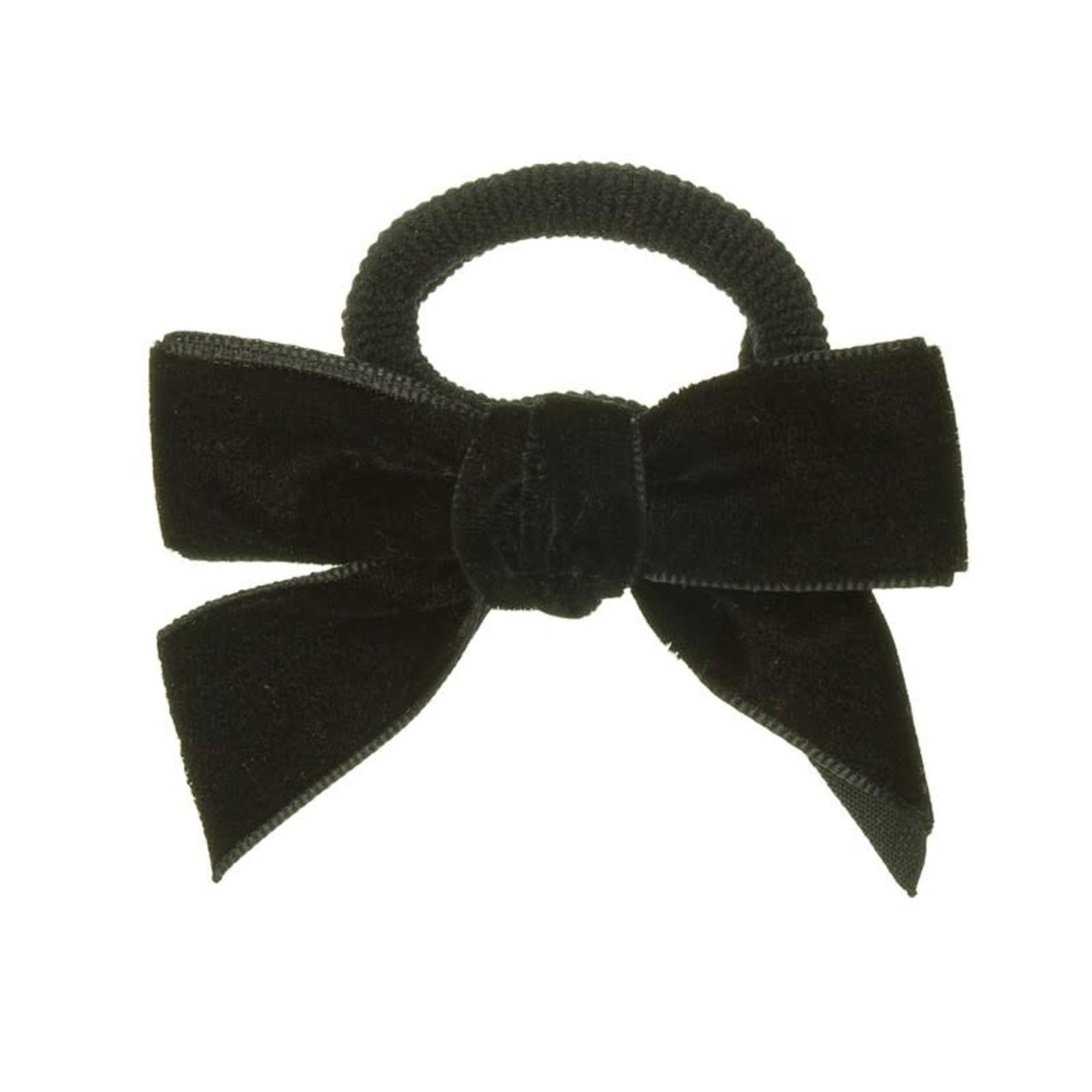 Hair Bow Velvet - black