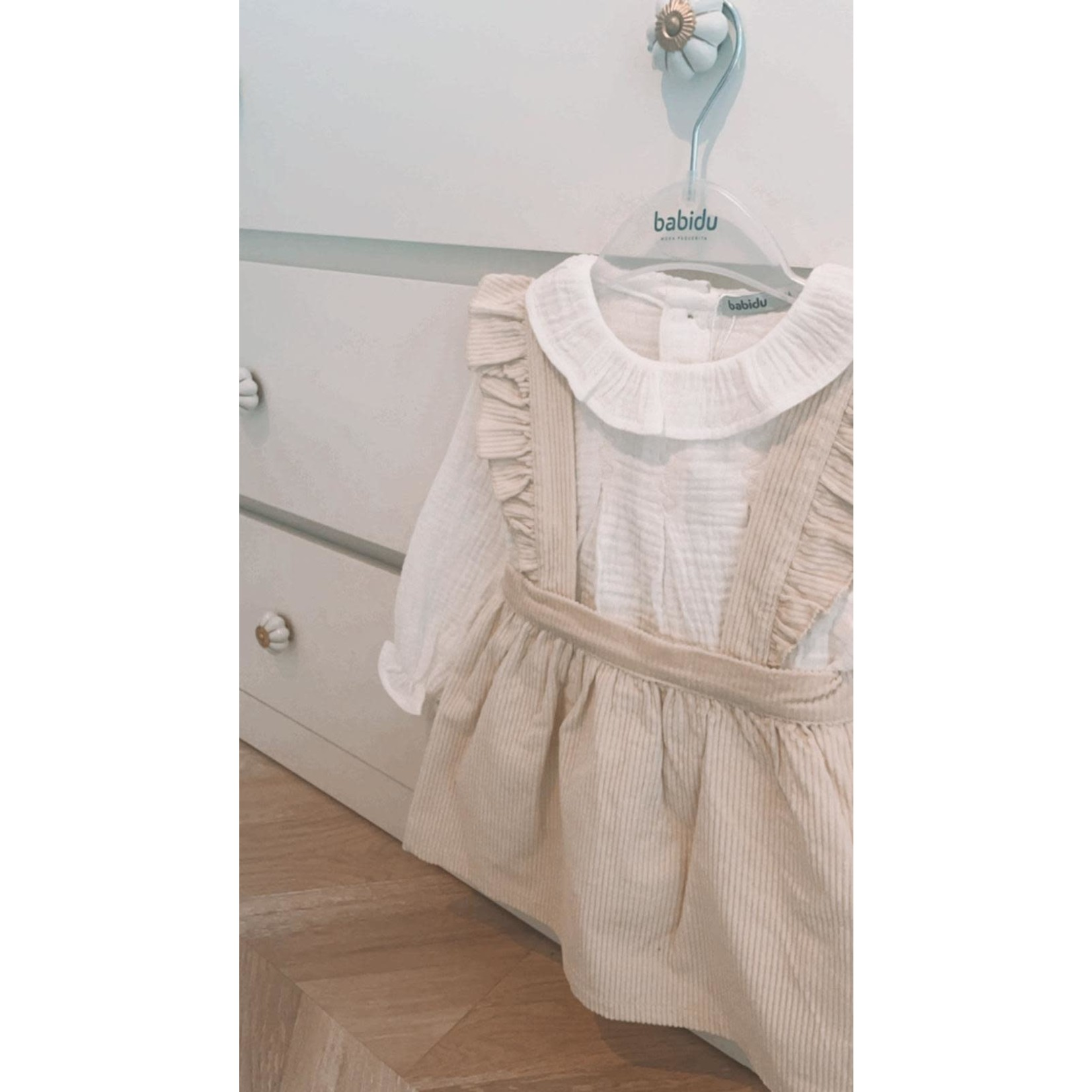Babidu Dress Tess Ivory - Babidu