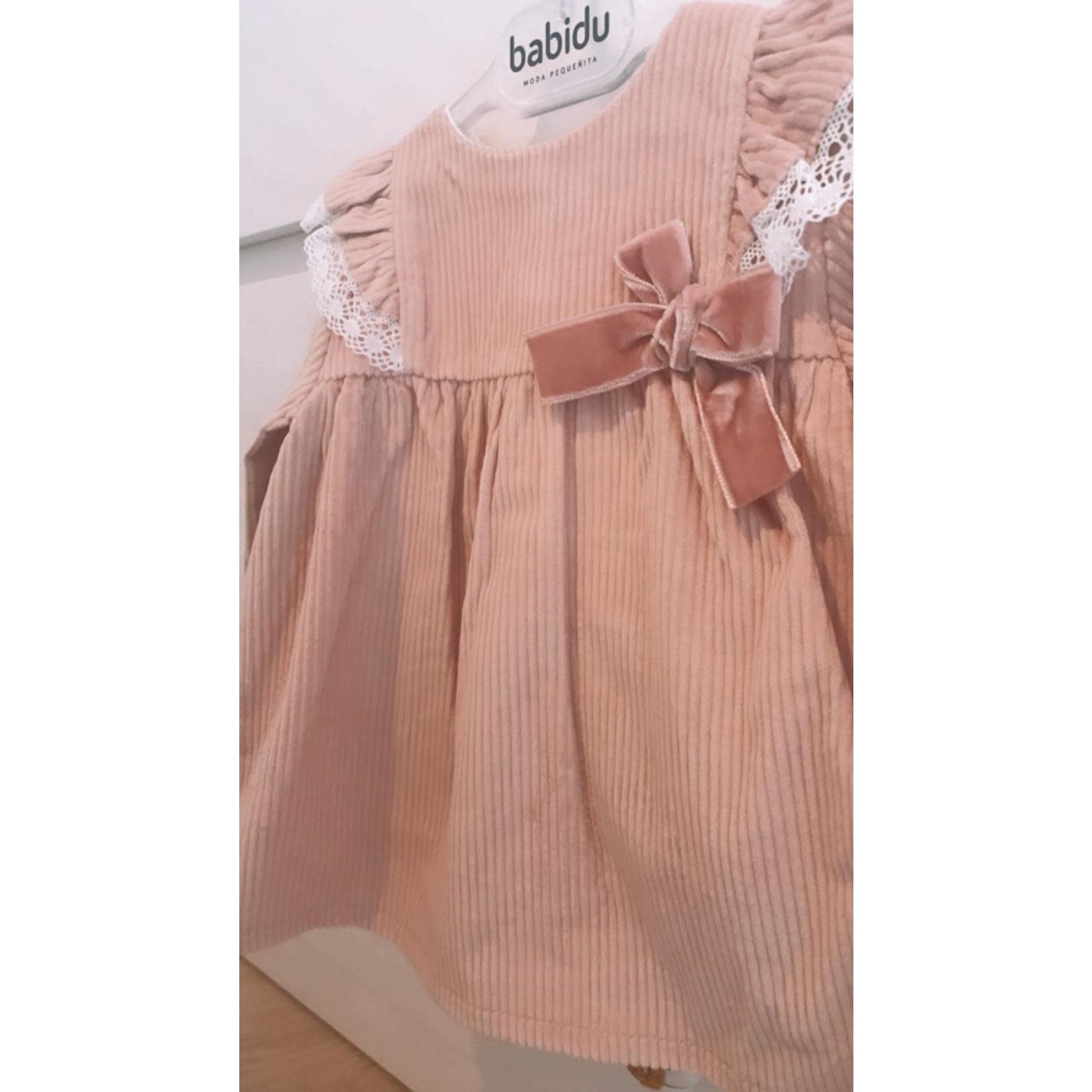 Babidu Rib Pink Dress - Babidu