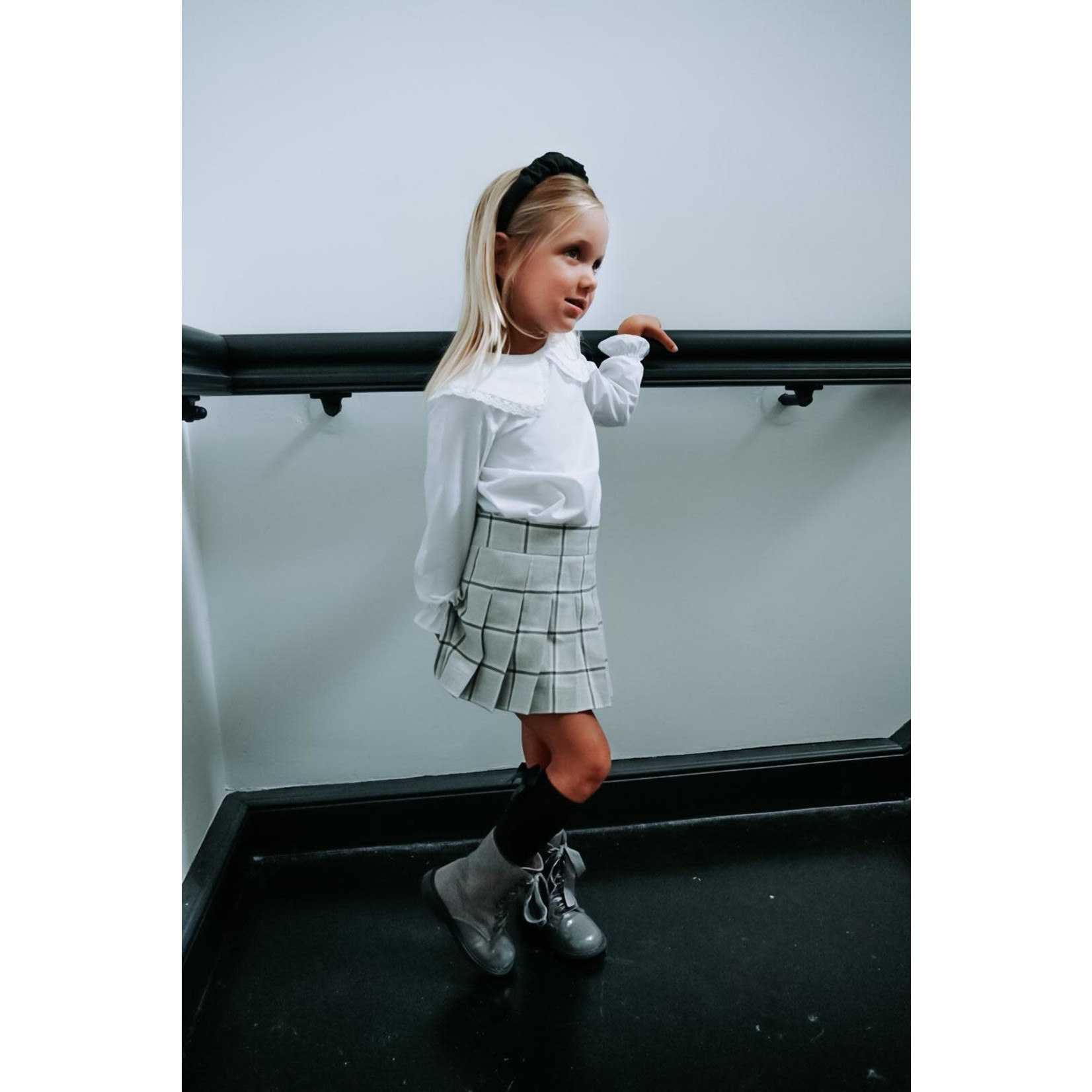 Petite Zara Skirt Gray - Petite Zara