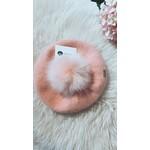 Hat Pink - Pompom 1-5 year