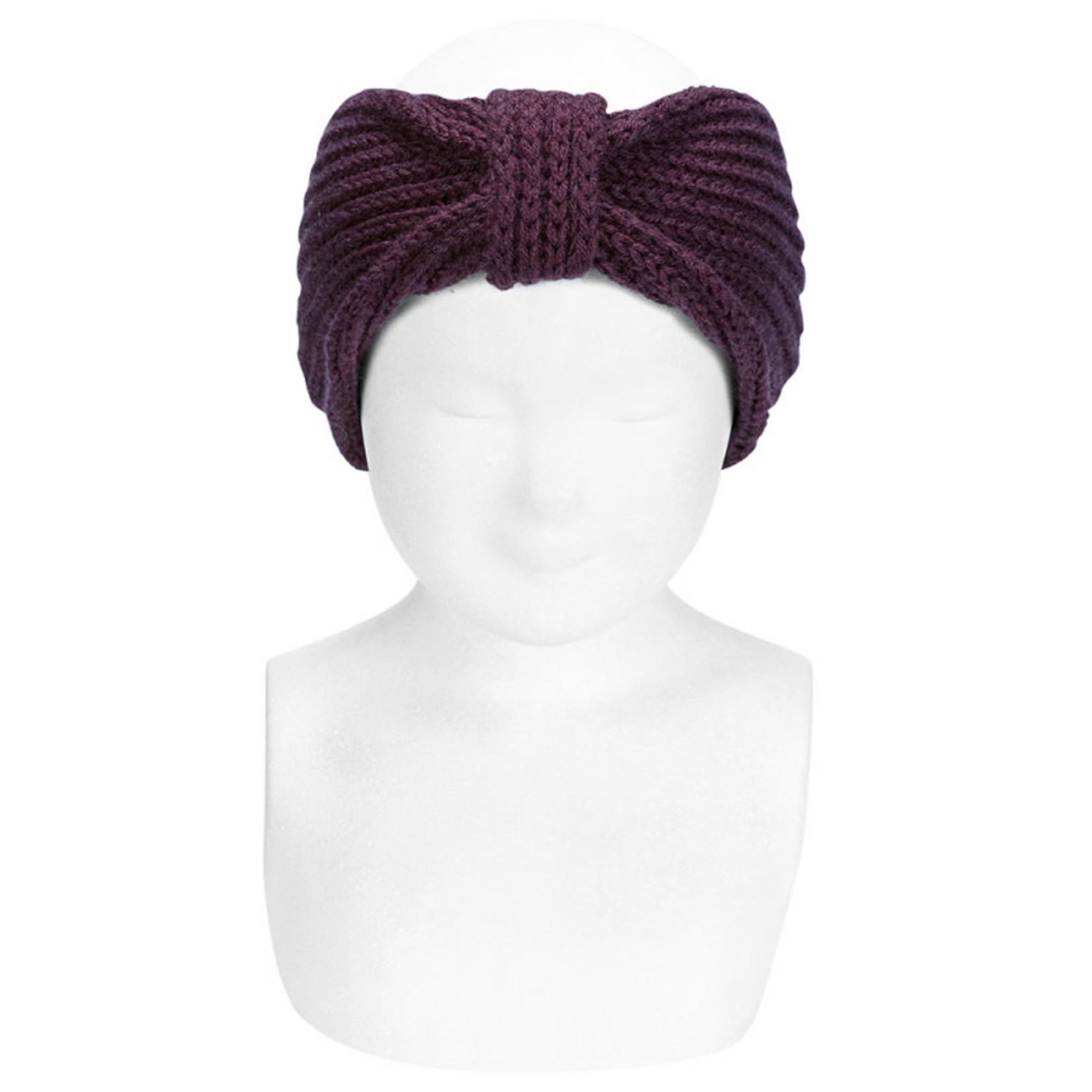Condor Hair Turban - Dark Purple