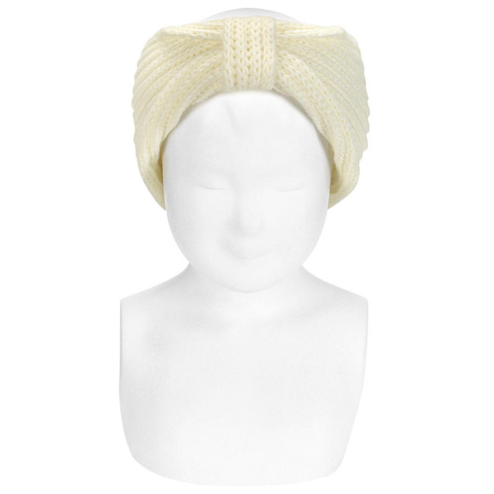 Condor Hair Turban - Ivory