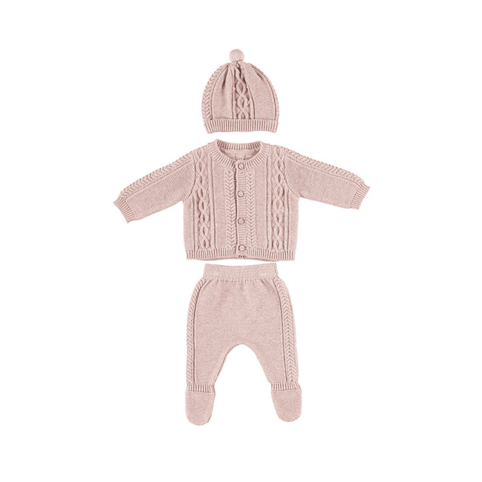 Mayoral Baby Set Pink - Mayoral
