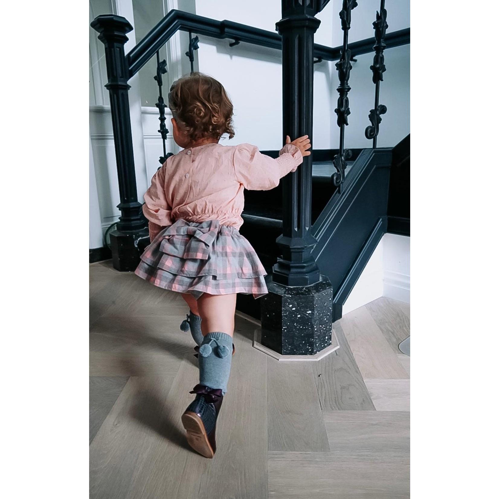 Petite Zara Bloomer Skirt Tartan - Petite Zara