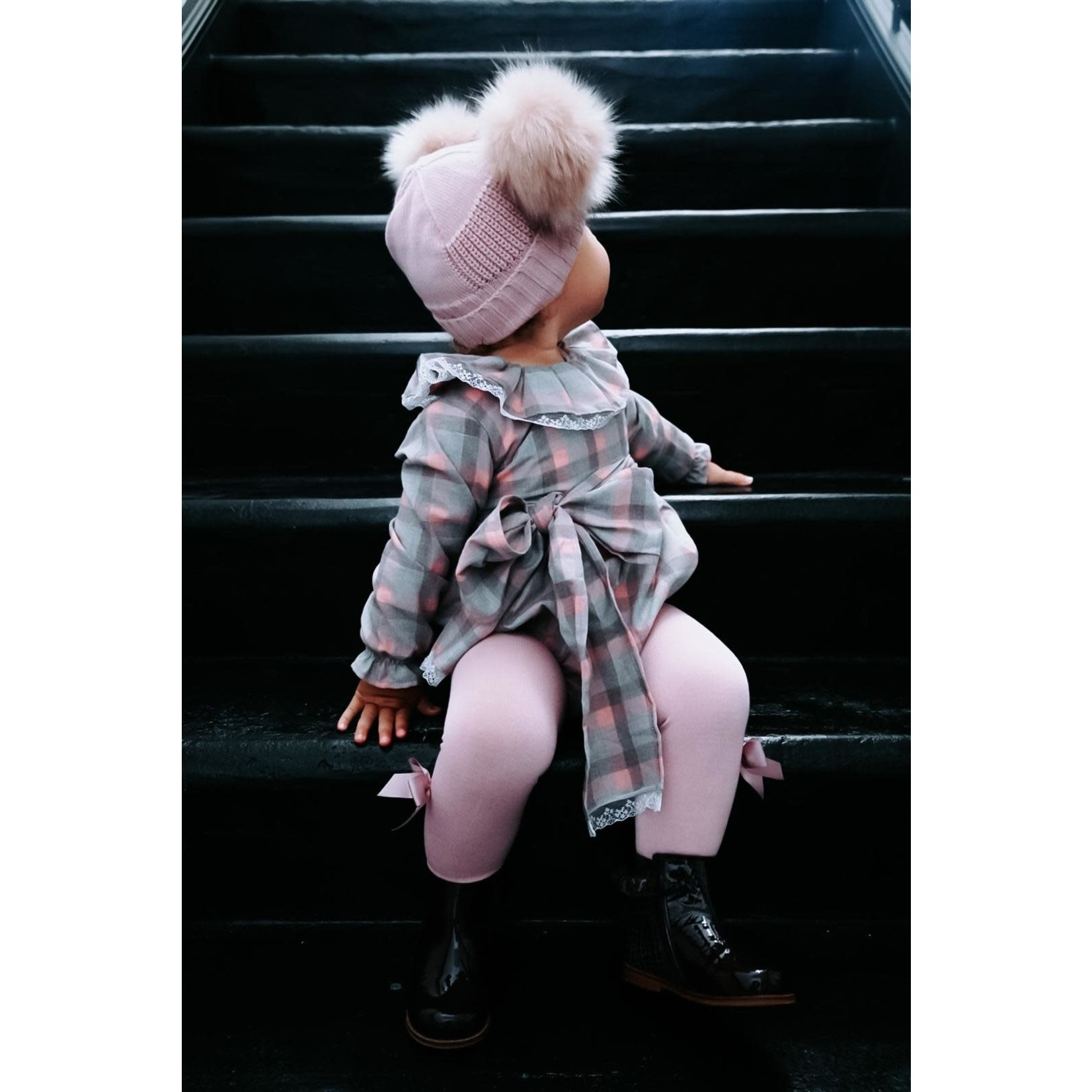 Petite Zara Romper Tartan -  Petite Zara