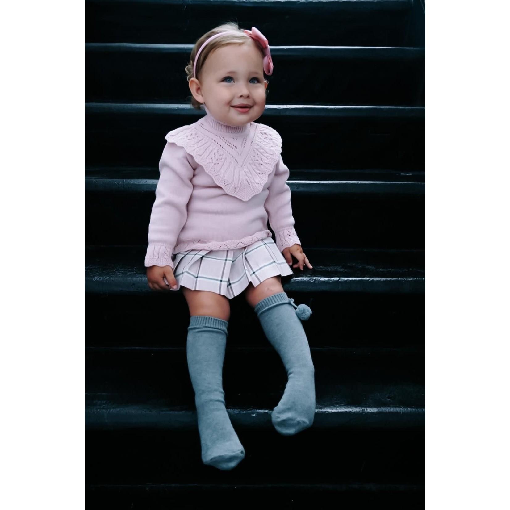 Petite Zara Knitted Sweater Pink - Petite Zara