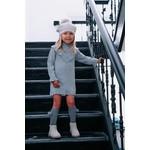 Petite Zara Knitted Dress Grey - Petite Zara
