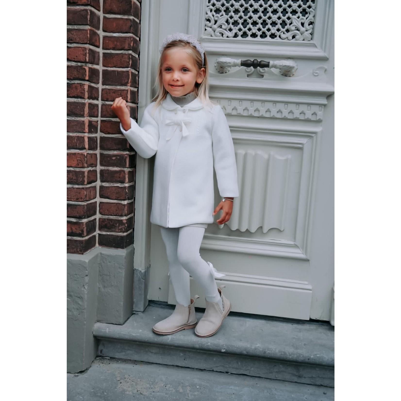 Petite Zara Knitted Jacket Ivory - Petite Zara