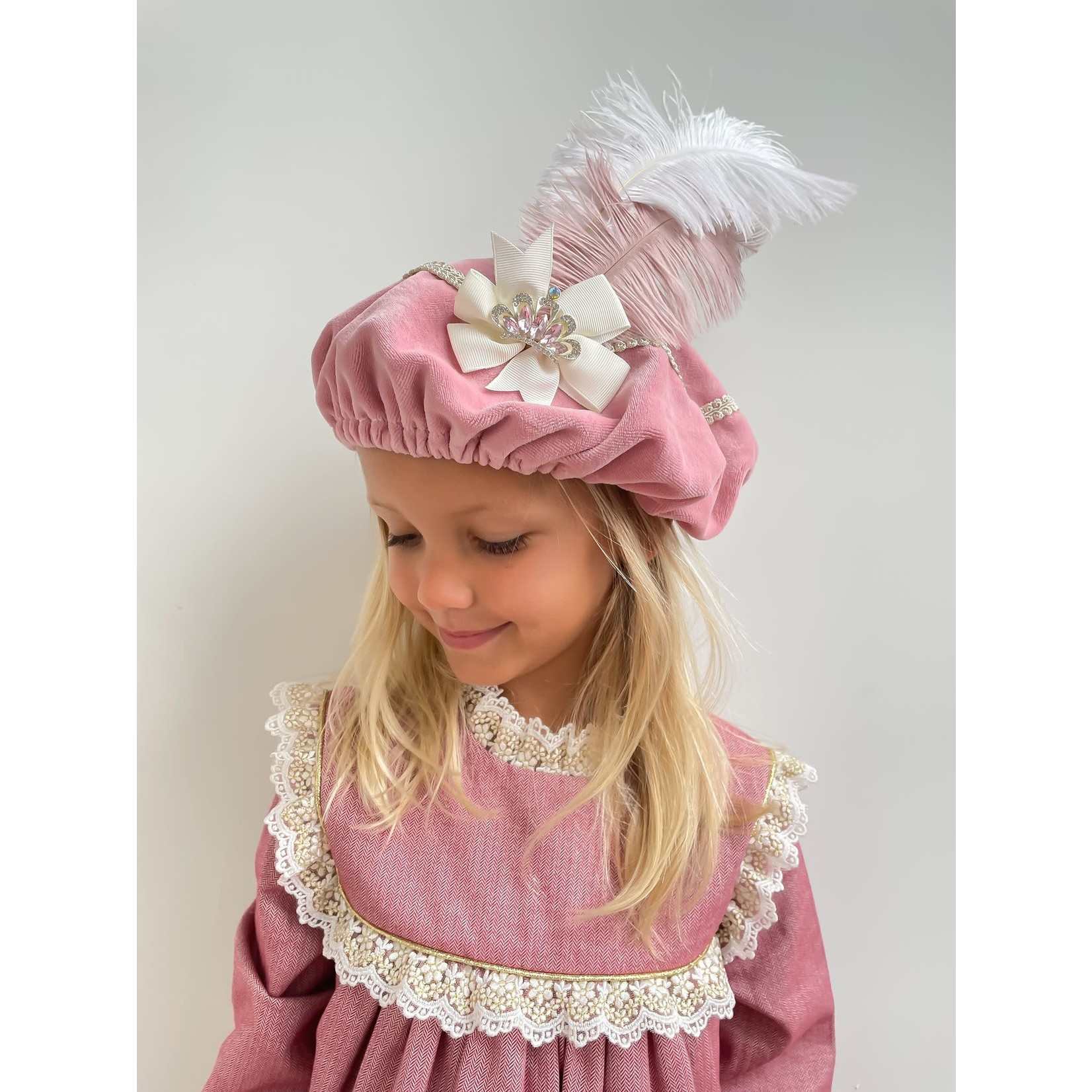 Petite Zara Pietenmuts - Pink