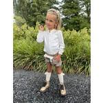 Petite Zara Short Ivory Bow - Petite Zara