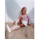 Petite Zara Short Velvet Ivory - Petite Zara