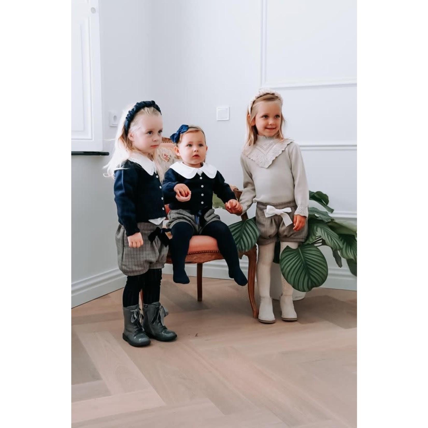 Petite Zara Knitted Cardigan Navy - Petite Zara