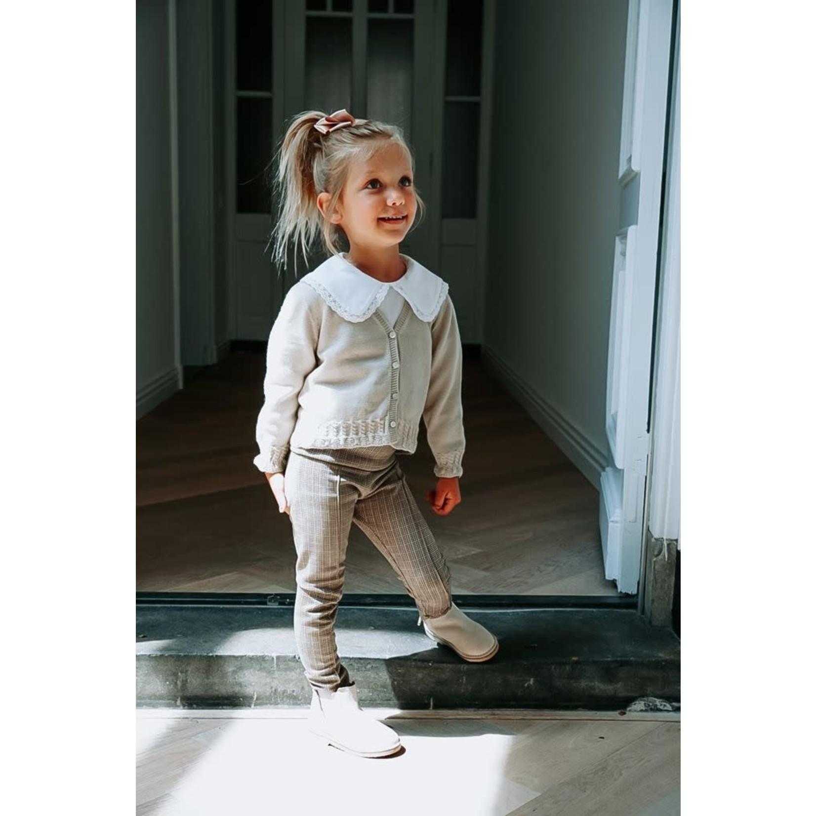 Petite Zara Knitted Cardigan Beige - Petite Zara