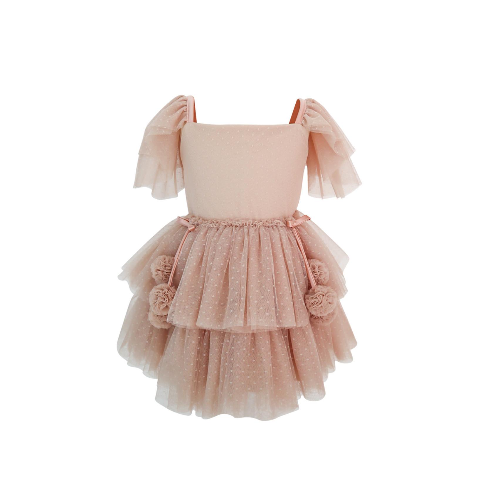 Spinkie Tutu Dress Set - Champange