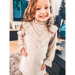 Petite Zara Knitted Dress Beige -  Petite Zara