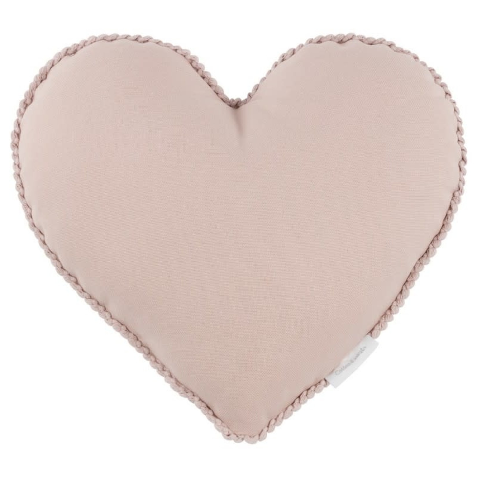 Cotton & Sweets Pillow Heart - Powder Pink