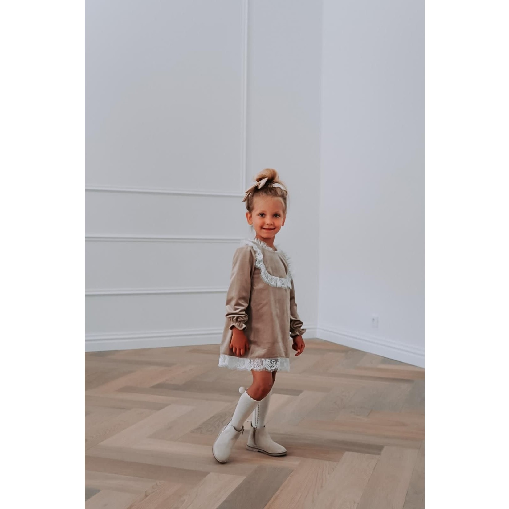 Petite Zara Velvet Special Dress