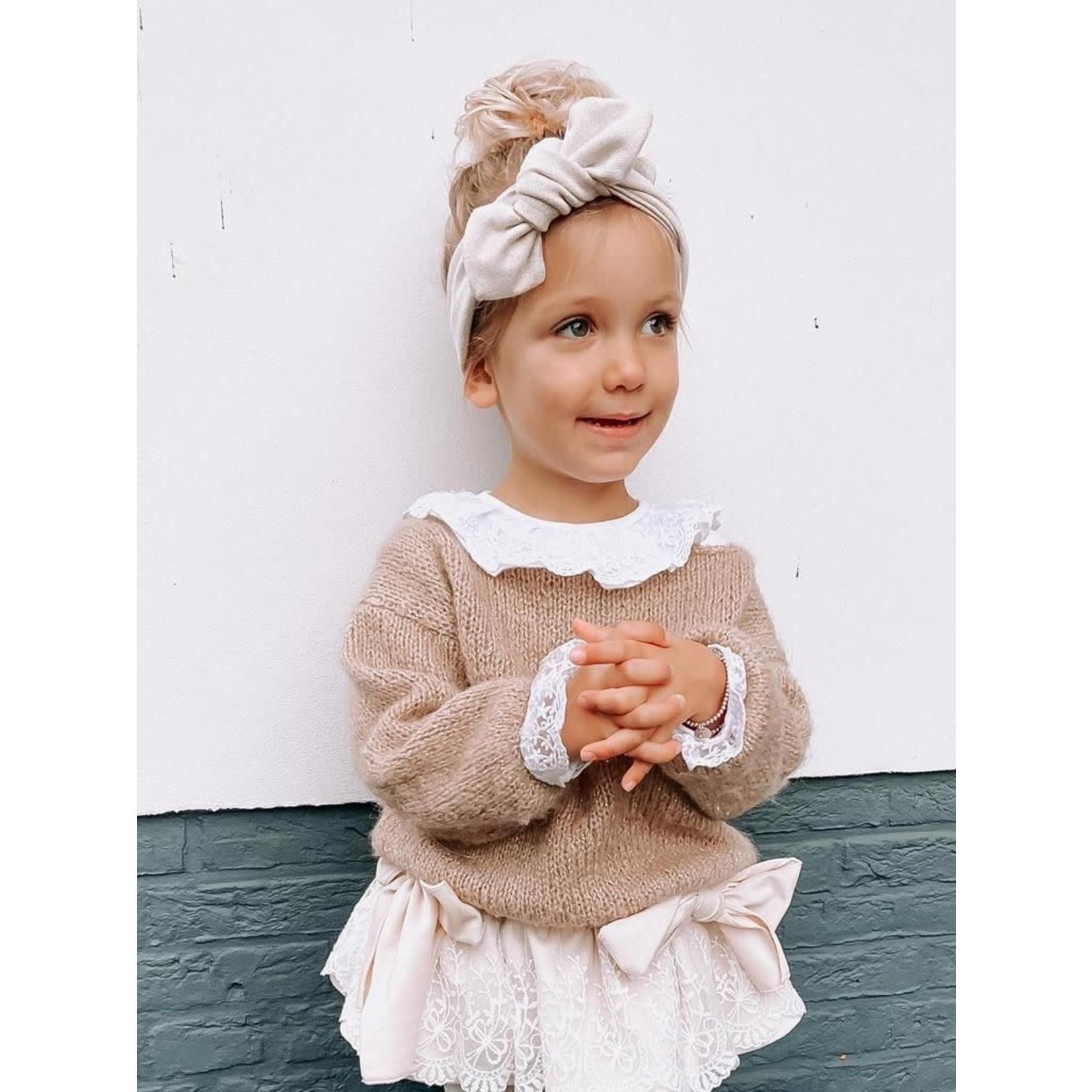Petite Zara Sweater Camel - Golden