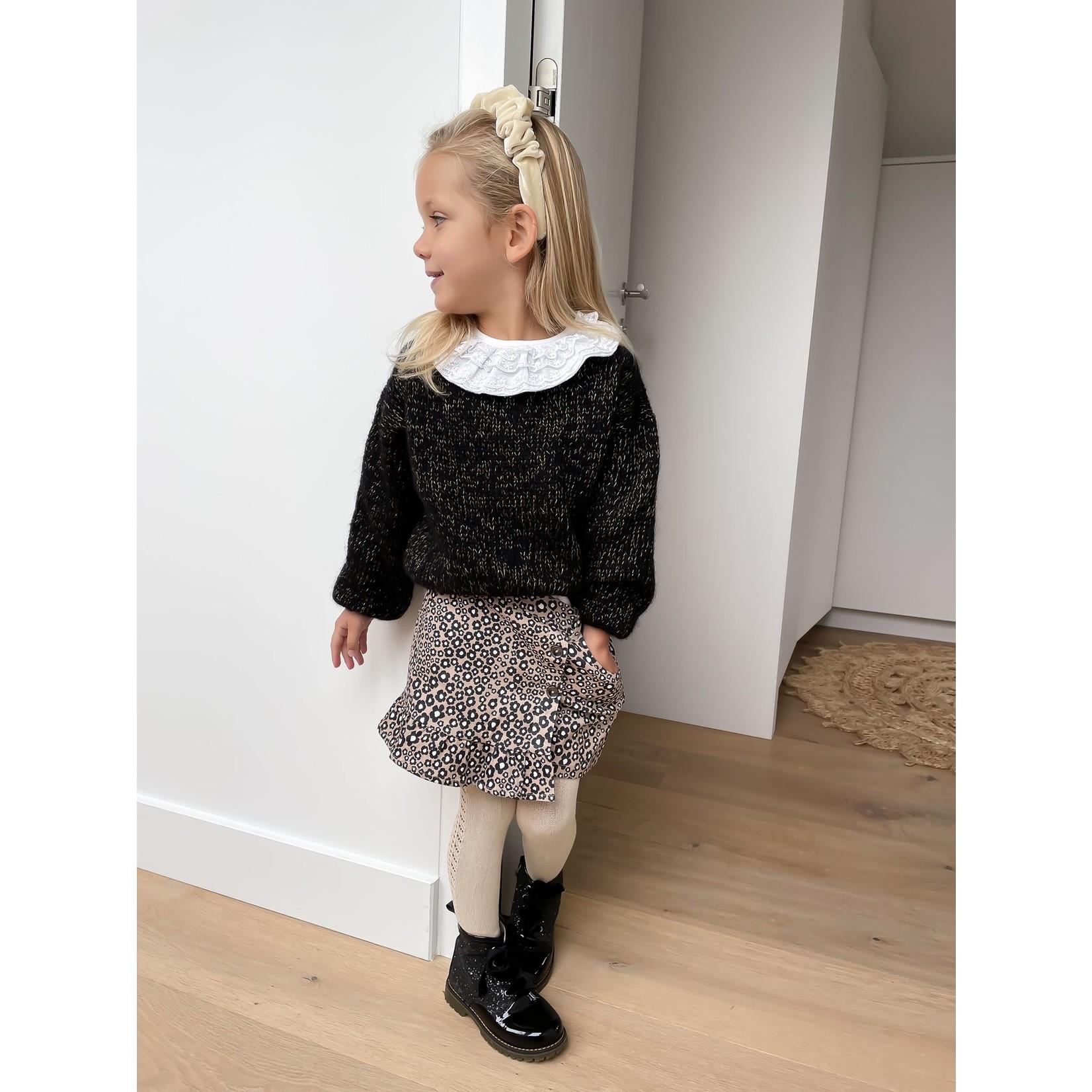 Petite Zara Sweater Black - Golden