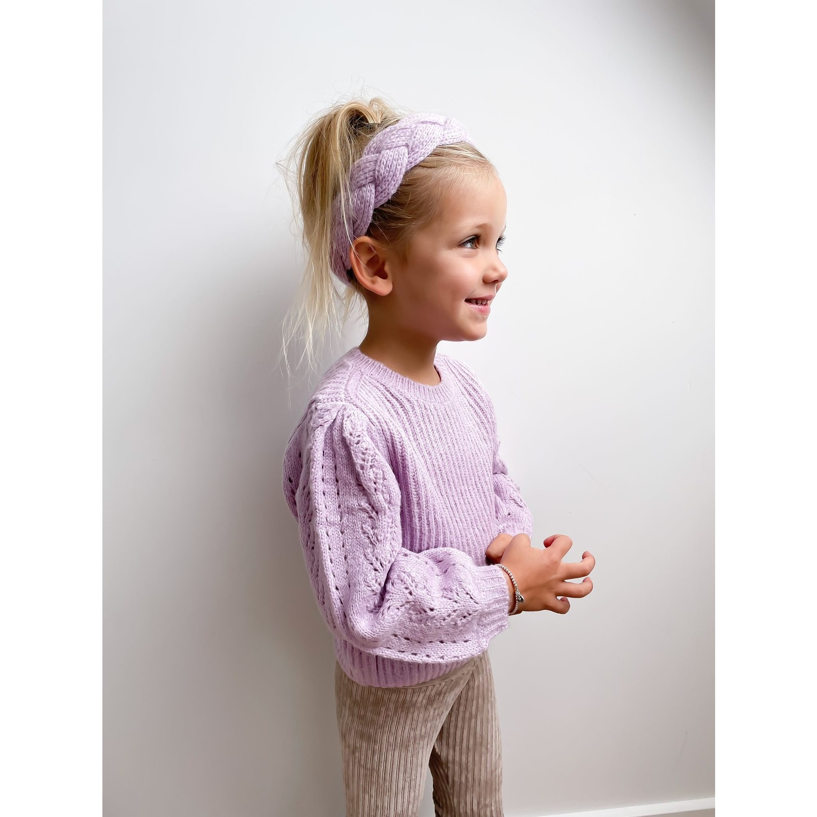 Mayoral Sweater Lilac - Mayoral