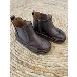 Petite Zara Shine Dark Gray - Boots