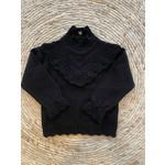 Petite Zara Knitted Sweater Black - Petite Zara