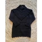 Petite Zara Knitted Dress Black - Petite Zara