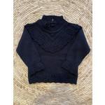 Petite Zara Knitted Sweater Navy - Petite Zara