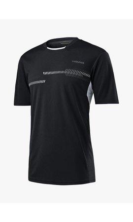 Head Club Technical Shirt - Zwart