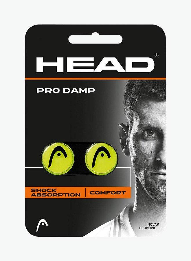 Head Pro Demper - 2 Stuks - Geel / Zwart