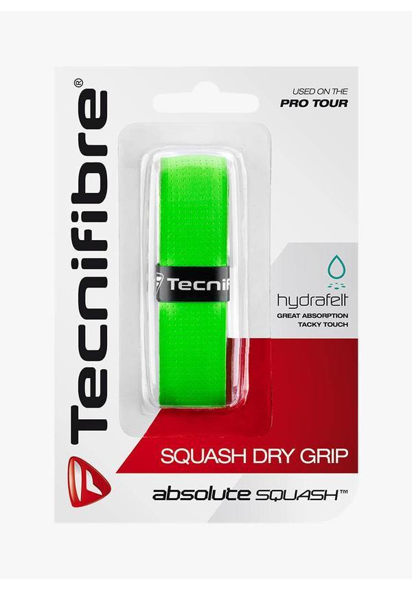 Tecnifibre Squash Dry Grip - Groen
