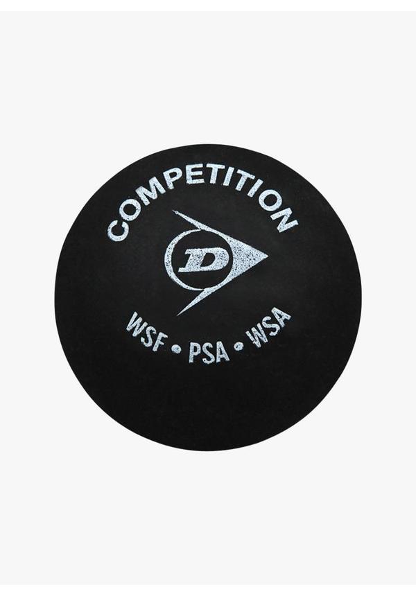 Dunlop Competition Squashbal (enkele gele stip)