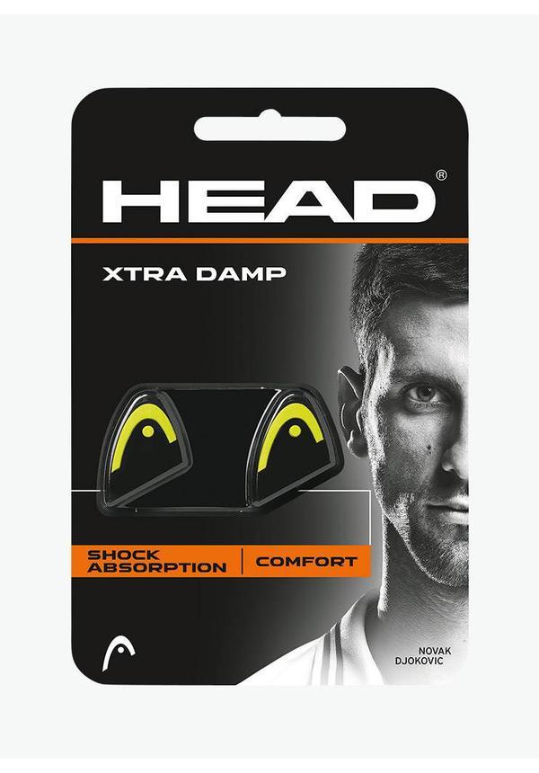 Head Xtra Demper - 2 Stuks - Zwart / Geel