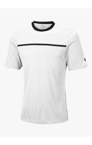 Wilson Team Crew Shirt - Wit