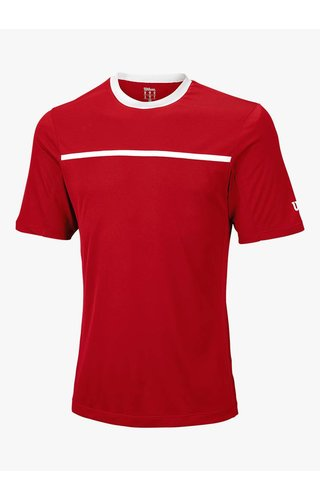 Wilson Team Crew Shirt - Rood