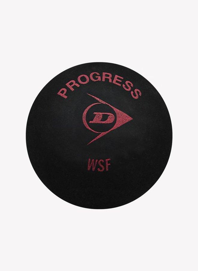 Dunlop Progress Squashbal - 3 Blister