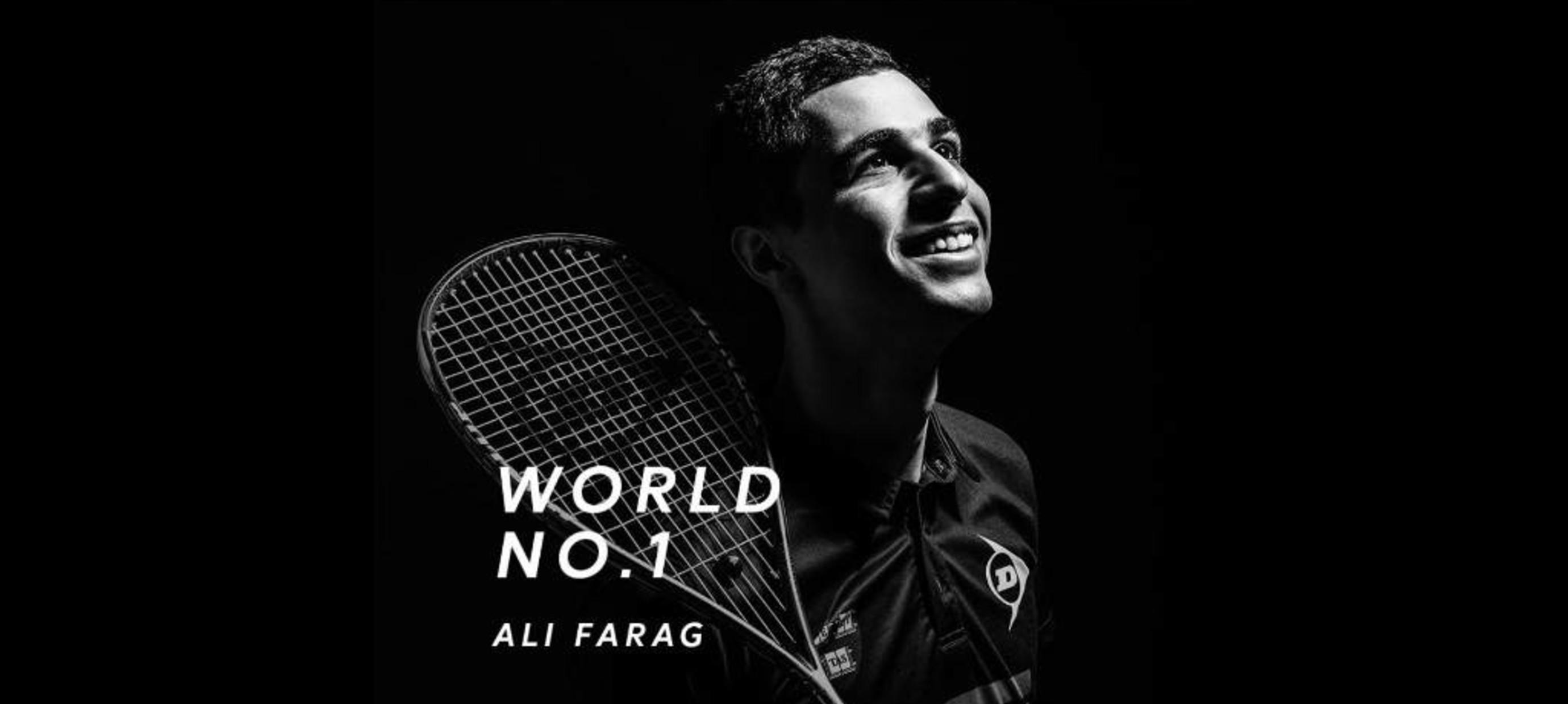 Ali Farag de nieuwe nummer 1