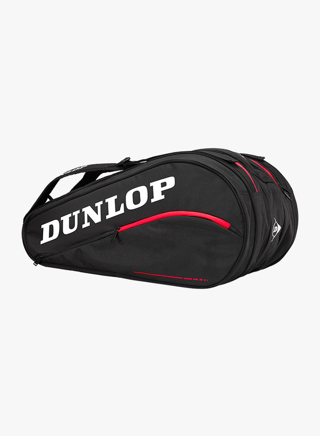 Dunlop CX Team 12 Racket Bag - Zwart / Rood