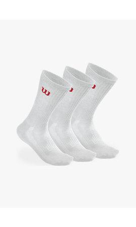Wilson Heren Crew Sokken - 3 Paar