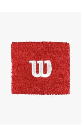 Wilson 'W' Polsband - 2  Stuks