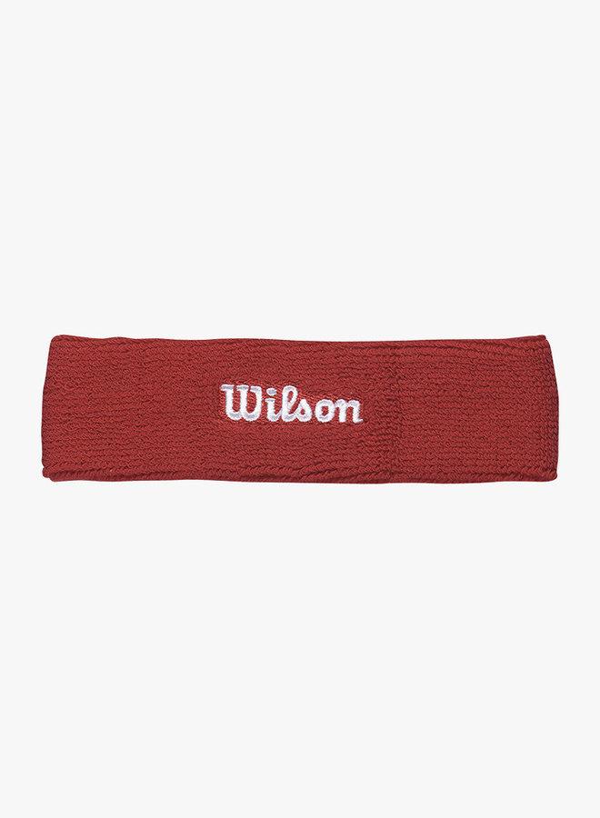 Wilson Hoofdband - Rood