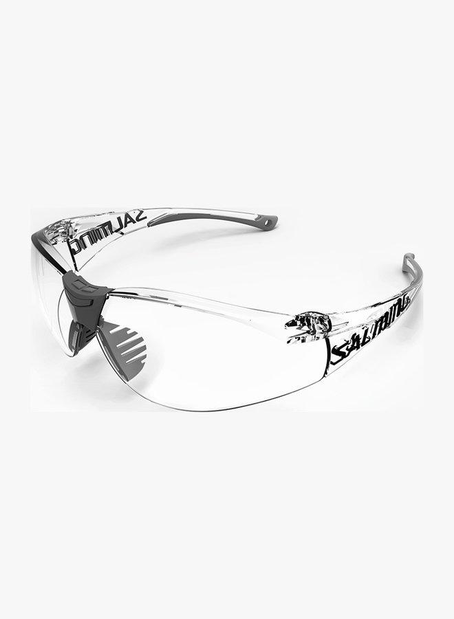 Salming Split Vision Junior Squashbril - Zwart