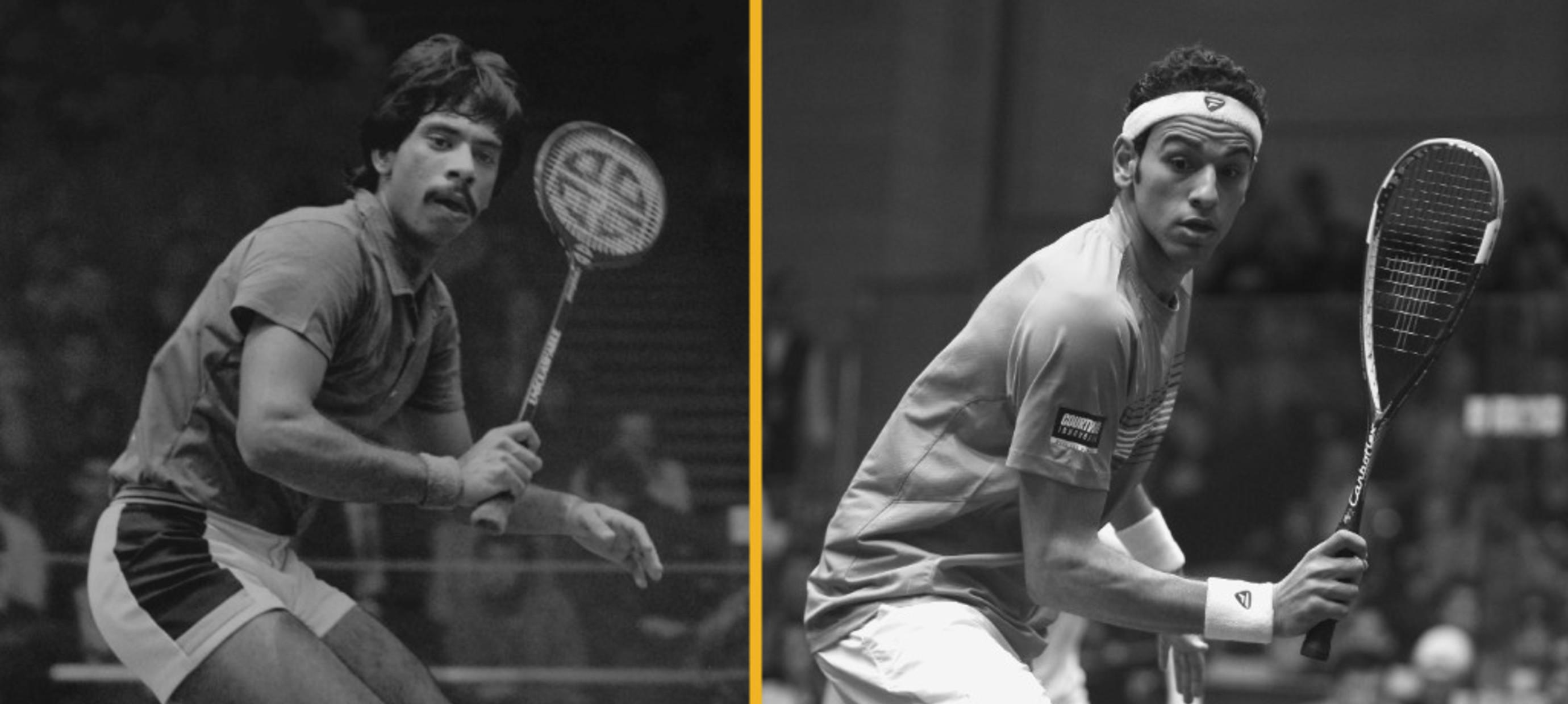 Van hout naar grafiet - De evolutie van squashrackets