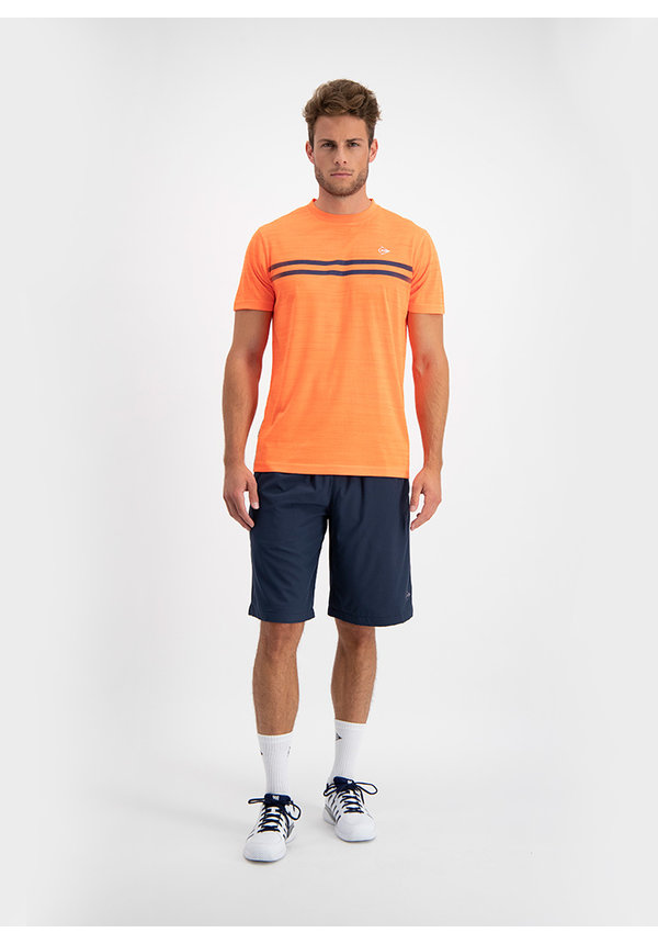 Dunlop Performance Mens Crew Tee - Oranje