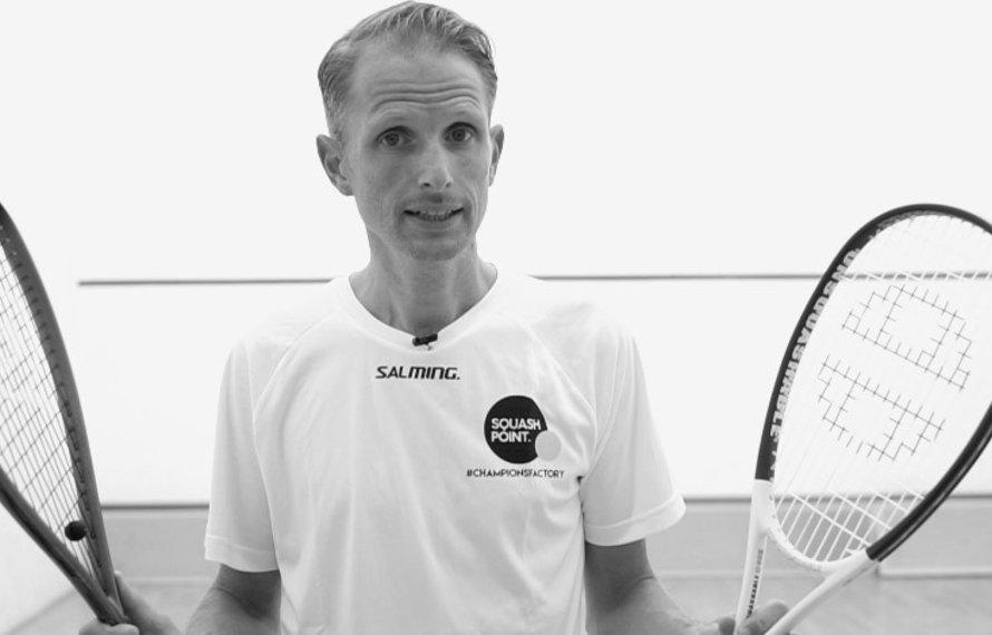 Hoe kies ik het juiste squashracket?