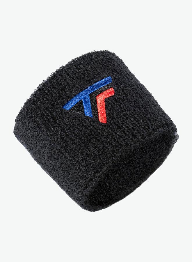 Tecnifibre Polsband - 2 Stuks - Zwart