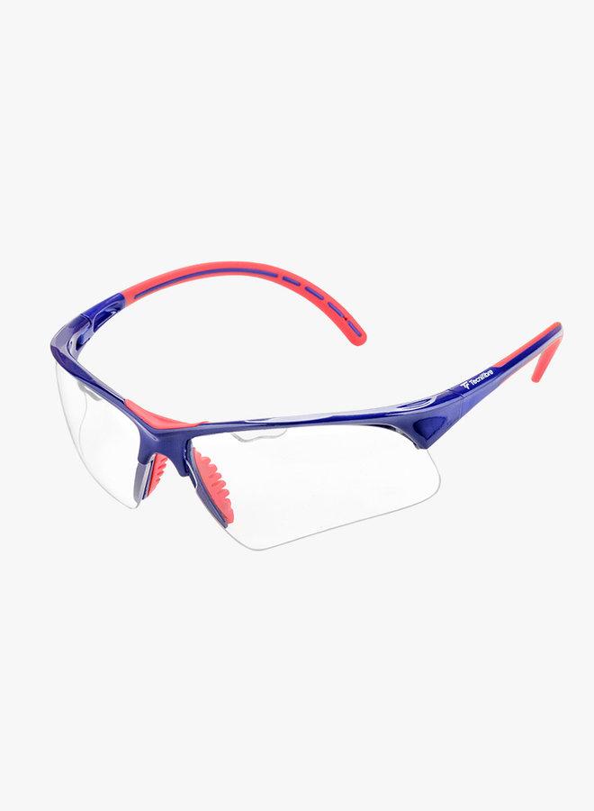 Tecnifibre Squashbril - Blauw / Rood